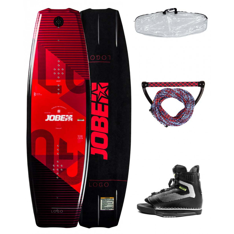 Вейкборд Jobe Vanity Wakeboard 141 & Maze Bindings Package (комплект)