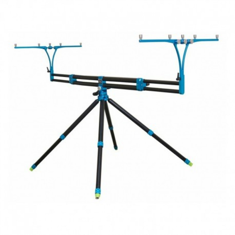 Род-под Meccanica Vadese Nick 95 Evolution Panoramic 4 Rods Buzz Black Tubes & Blue Joints