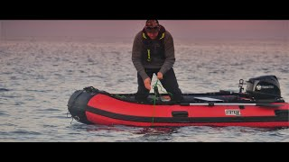 Stryker LX 360 w Tohatsu 9.8 (MFS9.8BS) - Crabbing In Beautiful BC - Inflatable Boat